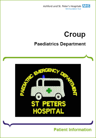 Click to download the Croup leaflet