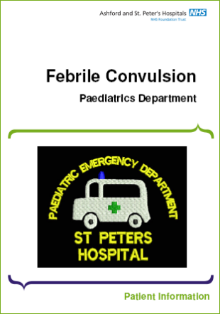 Click to download the Febrile Convulsion leaflet