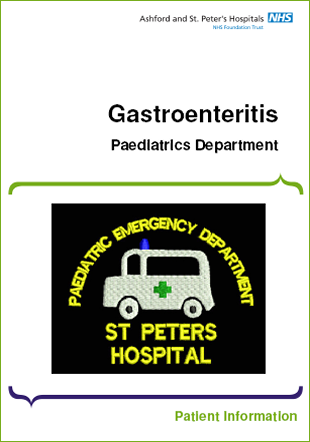 Click to download the Gastroenteritis leaflet