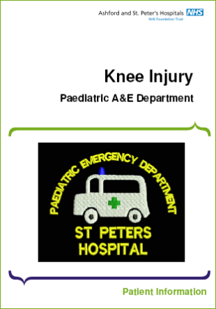 Click to download the Knee Injury leaflet