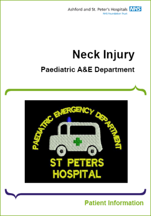 Click to download the Neck Injury leaflet
