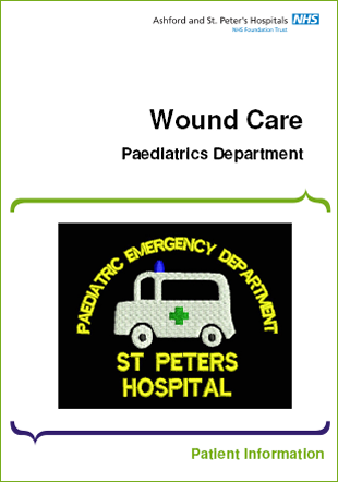 Click to download the Wound Care leaflet