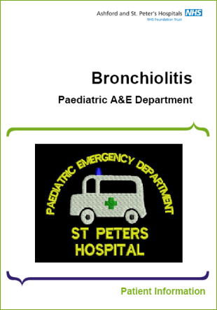 Click to download the Bronchiolitis leaflet