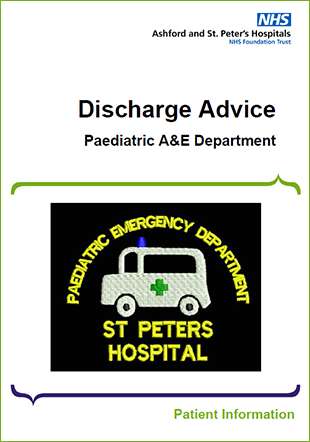 Click to download the Discharge Advice leaflet