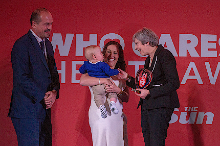 Theresa May honours NHS heroes - Read the article