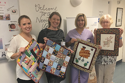 Thameside Quilters generous donations - Read the article