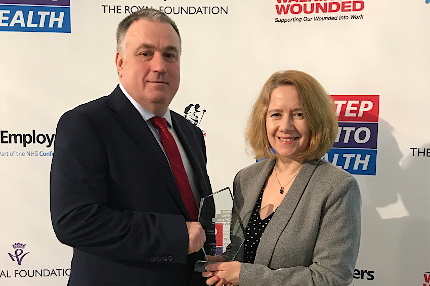 Trust win Armed Forces award - Read the article