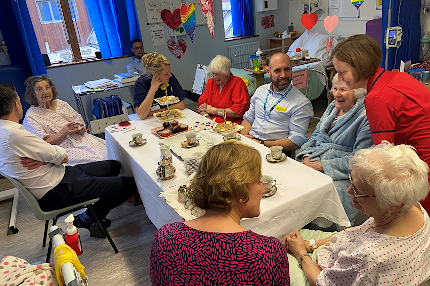 Tea-riffic party for patients - Read the article